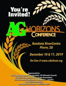 Ag Horizons Conference – South Dakota Wheat Inc